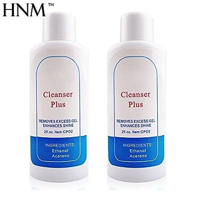 Nail Gel Polish Nail Art Cleanser Plus UV Gel Wipe Nail Varnish Remover By Ukiyo