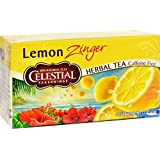Celestial Seasonings 20 Bags Herb Tea Lemon Zinger