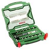 Bosch x-line - Maletín de 54 unidades para atornillar