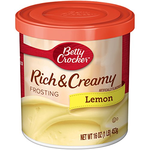 Betty Crocker Rich and Creamy Lemon Frosting 16 OZ (453g)