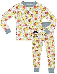 Pokemon - Pijama para niños - Pokemon - Ajuste Ceñido