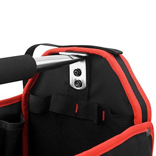 Werkzeugtasche Montagetasche Werkzeugbox Werkzeugkasten mit Schultergurt – XL – Modellauswahl - 3