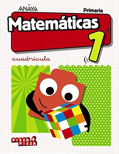 Matemáticas 1 Cuadrícula. (Pieza a Pieza) por Ana Isabel Carvajal Sánchez