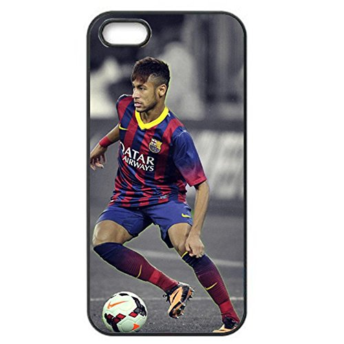DIY shirtzshop Soccer Players Santos Durrable personalizzato Slim Hard Plastic 3D Case QW6T006 for iphone 4 [Elettronica]