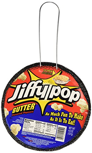 Jiffy Pop Butter Popcorn, 4.5 oz (Pack of 3) (Pop-herd)