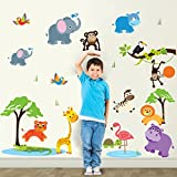 #8: Wall Sticker (Animals,Surface Covering Area 97 x 83 cm)