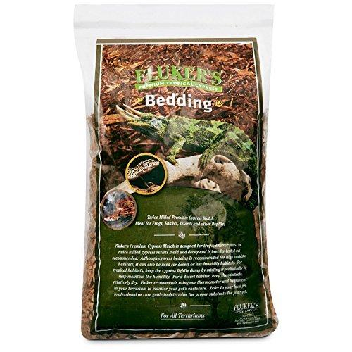 Flukers Premium Tropical Cypress Bedding for Reptile, 5 quart by Fluker's