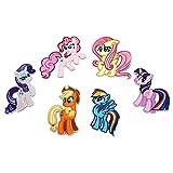 FSMILING 6 Stück My Little Pony Patches Zum Aufbügeln Kinder Set