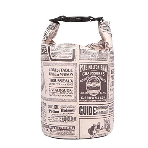 UFACE Handy wasserdichte Tasche Aufbewahrungstasche Tauchtasche Strandtasche schwimmende Tasche wasserdichte Eimer Tasche (3L, J)