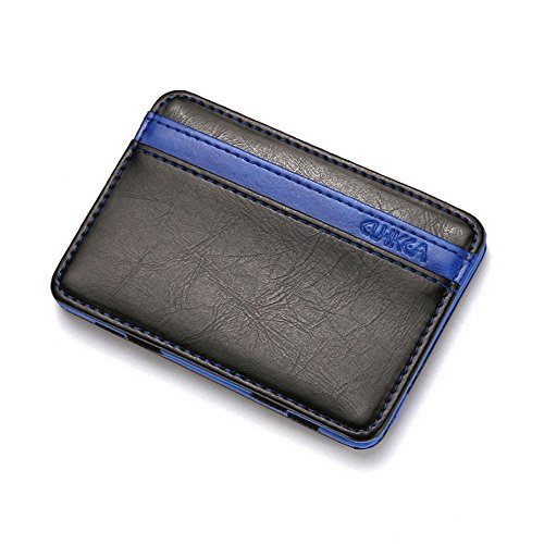 CATOP Front Pocket Wallet Multicolored PU Leather Slim Magic Wallet and Credit & ID Case Holder (Flap Pocket Jeans Back)