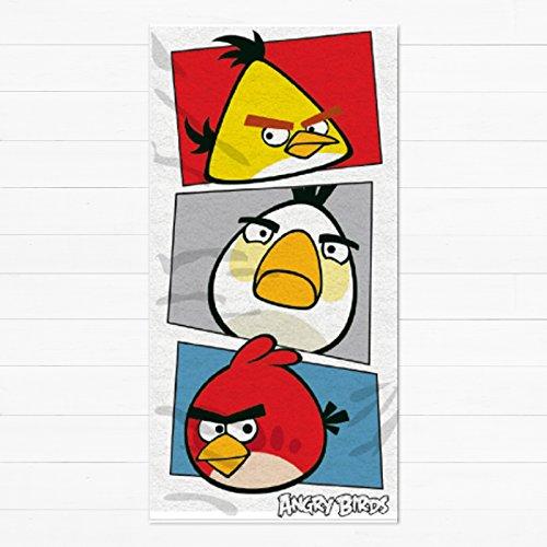 Angry Birds Bambini/bambini Ufficiale Telo Da Spiaggia - Variopinto, n/a