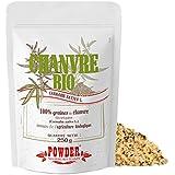 Powder Semillas de Cáñamo Ecológicas - 250 gr