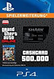 Grand Theft Auto Online | GTA V Blue Shark Cash Card | 500,000 GTA-Dollars | PS4 Download Code - österreichisches Konto