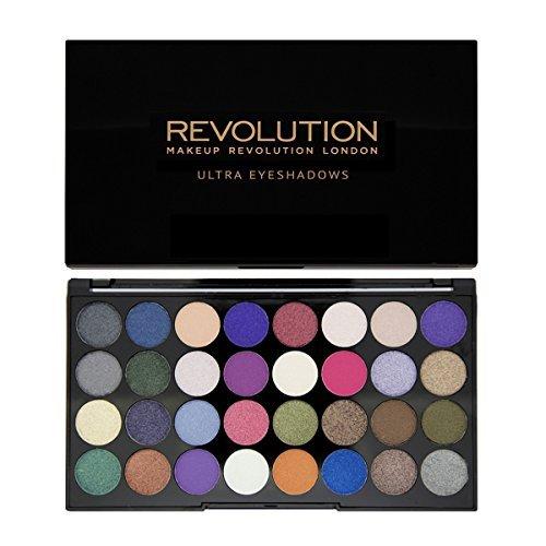Revolution Ultra 32 Shade Eyeshadow Palette EYES LIKE ANGELS