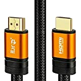 Cavo HDMI di Orange IBRA 2.1 Cavo 8K ultra veloce a 48 Gbps | Supporta 8K@60HZ,4K@120HZ,4320p,compatibile con Fire TV, suppor