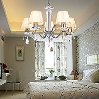 OOFAY LUCE Contemporary ferro creativa sala da pranzo soggiorno camera da letto di cristallo Lampadario con 5 luce