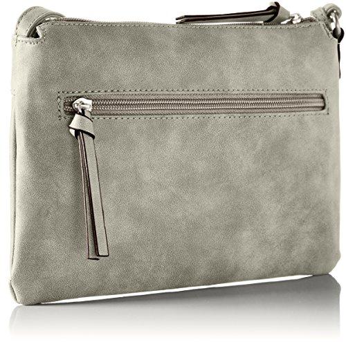 Tamaris - Twiggy Small Crossbody Bag, Borsa a tracolla Donna Grigio (grigio)