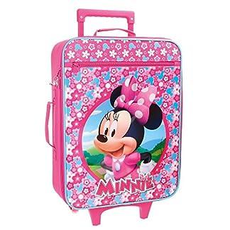 Disney Minnie Pink Maleta de cabina, 50 cm, 25 Litros, Rosa