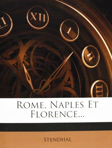 Rome, Naples Et Florence.