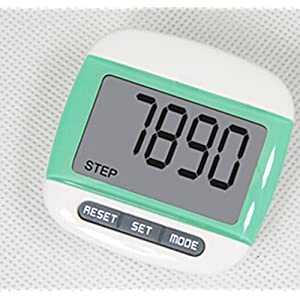 513f1winZBL. SS300  - Liroyal New Multi-function Pedometer Distance Calorie Counter 5 Steps Buffer Error Correction Large LCD Display with Belt,Green