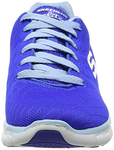 Skechers Synergy-Moonlight Madness, Baskets Basses Femme bleu (BLLB)