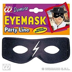 WIDMANN Domino Caballero Máscara de zorro Unisex niño, talla única, 6385z
