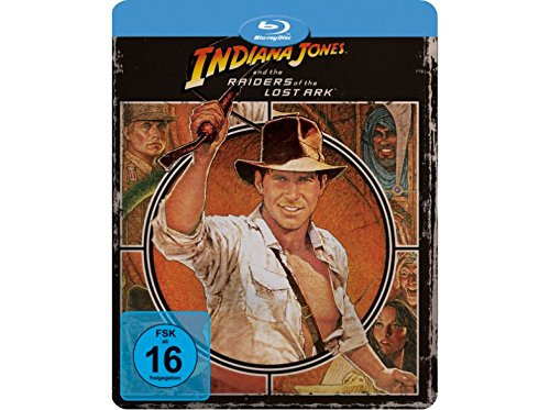 Indiana Jones: Raiders of the Lost Ark - Limited Edition Steelbook - Futurepak - Novobox Edition - Geprägt - Blu-ray [Blu-ray]