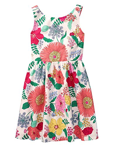 Crazy 8 Girl's Floral Casual Dress