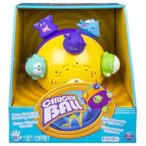 Cepia Spinmaster – Chuckle Ball – Motorisierter Spielball mit Sound-Effekten [UK Import]