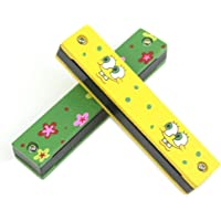 Craft Expertise Plastic Harmonica Mouth Organ for Kids ( Set of 2 )
