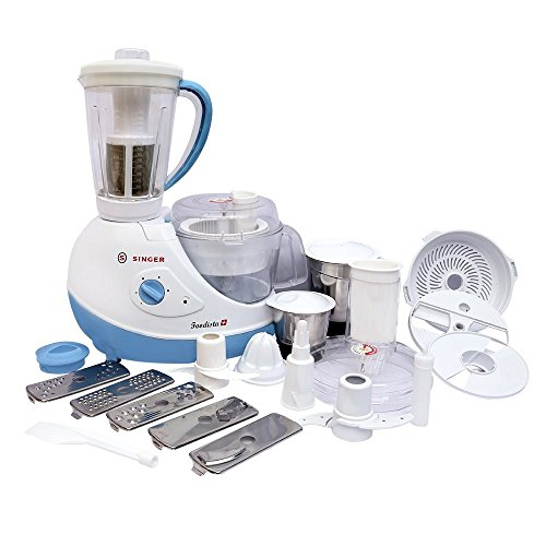 Singer Foodista Plus 600 Watts Food Processor with Citrus Juicer  available at amazon for Rs.4895