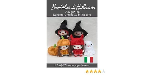 Halloween amigurumi ghost crochet pattern, English written pattern ... | 315x600