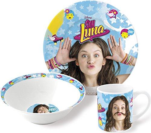 Luna Dessert (Geschenkbox Set mit Teller, Tasse, Dessertschale; Motiv: Ich bin Luna (Stor 46965))