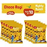 Slurrp Farm Mighty Puff - Choco Ragi with zero transfat (Pack of 8)