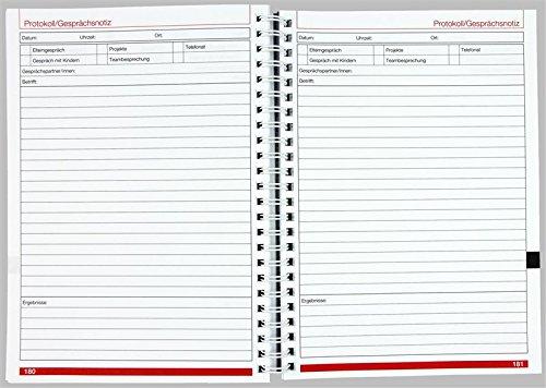 Flöttmann Kompaktplaner für Erzieherinnen und Erzieher 2018 - 2019 - A5 Kalender - Kita-Planer - 7