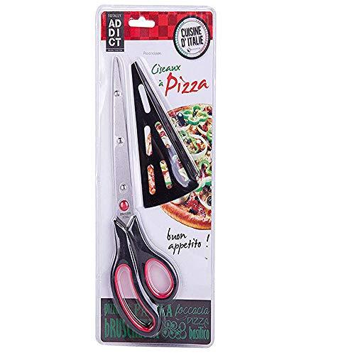 GNSDA Tijeras Pizza sin rasguños 10.5in Seguro fácil