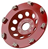 MDW Diamant Schleifteller Ø 125 mm / 180 mm Turbo Speed zum Schleifen von Beton & Beschichtungen