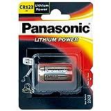 Panasonic CR123A Batterie Photo Power Lithium 5-Pack, 1450mAh