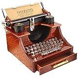 Greenlans Boîte à Musique Vintage pour Machine à écrire ou Bureau Décoration de...