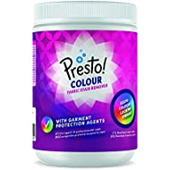 Amazon Brand - Presto! Powder Fabric Stain Remover Colors, 80 Washes (2 Packs , 40 washes each)