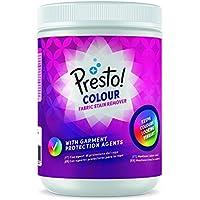 Marca Amazon - Presto! Quitamanchas en polvo para ropa de color, 80 lavados (2 Packs de 40 lavados)