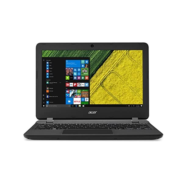 Acer Aspire ES1-132 11.6-Inch Notebook – (Black) (Intel Celeron N3350 Processor, 4 GB RAM, 32 GB eMMC, Windows 10) 513fBDWj2FL