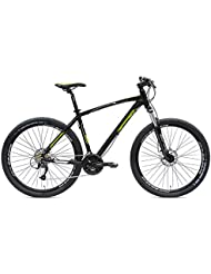 "Trail 27,5 VERTEK bicicleta, color negro y Verde 24 velocita'(MTB)/Bicycle Trail 27,5"" speed 24/(MTB) Green Black"