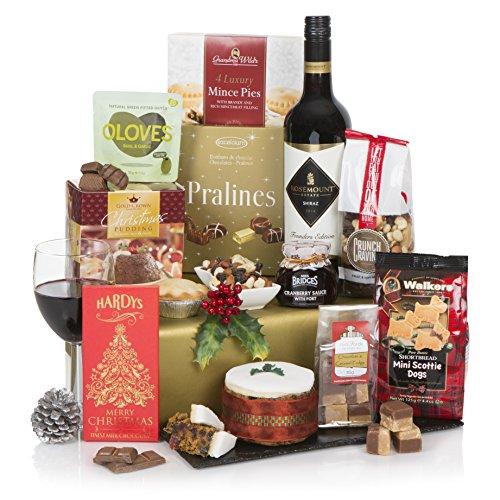 Cesta Christmas Cracker - Parte de la gama de nuestras cestas de Navidad y regalos de Navidad para el 2017