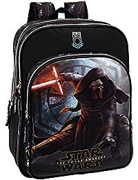 Preisvergleich für Star Wars 2352451 The Force Awakens Schulrucksack mit 2 Fächer Schulrucksack, 42 cm, 27.72 Liter, Schwarz
