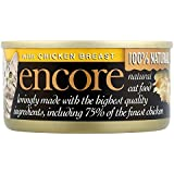 Encore Cat Food Tin Chicken, 70g, Pack of 18