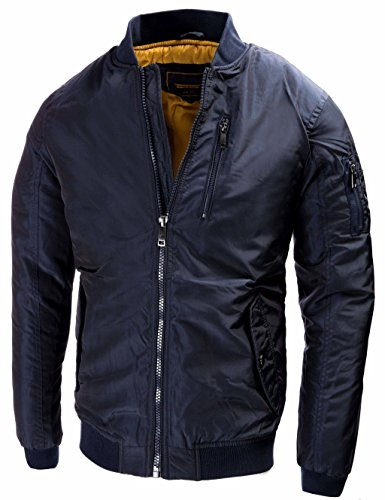 U.S. Air Force Pilotenjacke Fliegerjacke Bomberjacke Outdoor Collegejacke Winterjacke Old School Übergangsjacke Windbreaker 9895 M L XL XXL