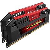 Corsair CMY16GX3M2A1866C9R Vengeance Pro Series 16 GB (2 x 8 GB) DDR3 1866 Mhz CL9 XMP Performance Desktop Memory Kit - Red