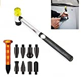 10Pcs Dent Repair Tool Kit Senza Dentatura Rimozione Tap Down Tool Dent Hammer DIY