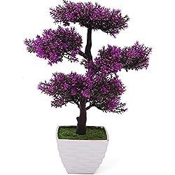 2018 Dekorative Blumen Dekorative Künstliche Bäume mit Blüten, 104, 1